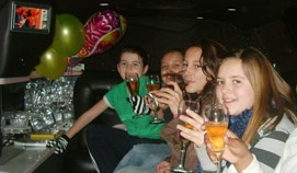 Kids Party Limo