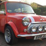 Mini Classic Car Wedding