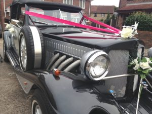 Vintage Wedding Car South Yorkshire