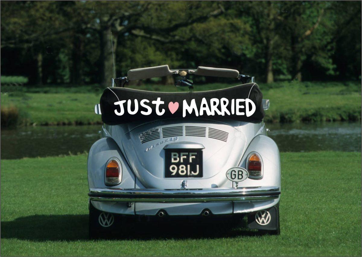 VW 2-Car Weddings