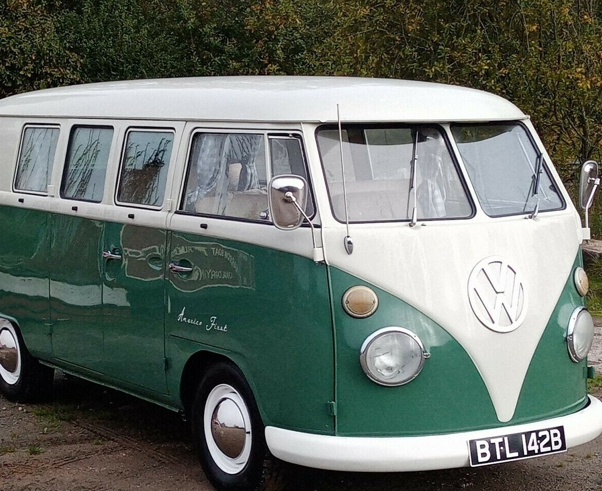 VW Splitscreen Campervan